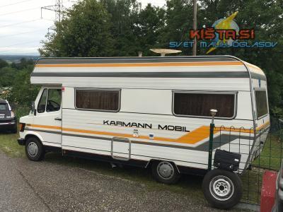 Avtodom Karmann Mercedec-benz Karmann mobil