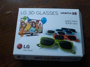 5X 3D Očala LG v orig.škatli