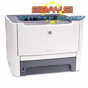 6xlaserski tiskalnik HP+kabli