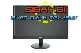 19″ (18.5)LCD zaslon AOC LED E970S (Wide)+kabli