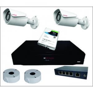 2 kanalni video nadzorni komplet CP PLUS
