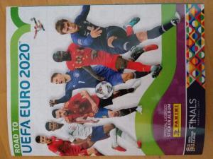 PRODAM ALBUM PANINI ROAD TO UEFA 2020