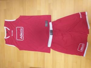 PRODAM Košarkarski dres + Košarkarske kratke hlače komplet