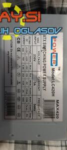 420W LC  Power LC420 napajalnik