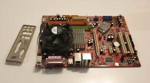 Matična MSI P35Neo(quad)+CPU C2D E8200+cooler+4gb ram.io shield